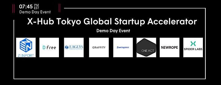 X-Hub Tokyo Global Startup Accelerator Demo Day Event image