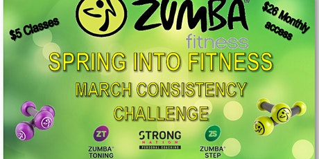SPRING INTO FITNESS ZUMBA STYLE Tickets