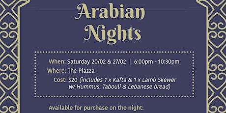 Arabian Nights tickets