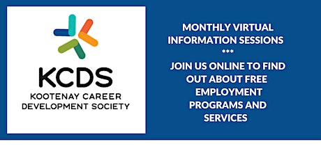 KCDS Virtual Information Sessions tickets