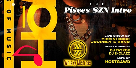HOUSE OF MUSIC Live Dinner Show + Nightcap @WhiskyMistress : Welcome  Hо̄M! tickets