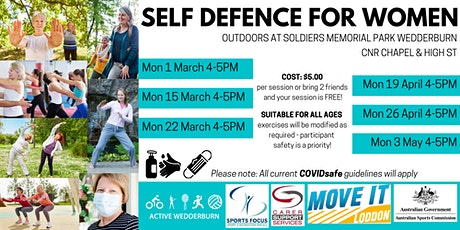Self Defence for Women tickets