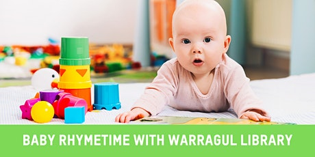 Warragul Library Baby Rhyme Time 11:00am tickets
