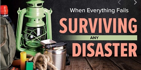 Free Disaster Preparation Masterclass tickets