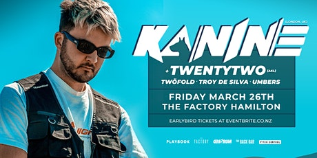 Kanine (UK) at The Factory, Hamilton tickets