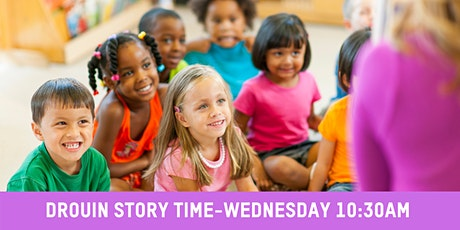 Drouin Library Story Time Wednesday 10:30 AM tickets