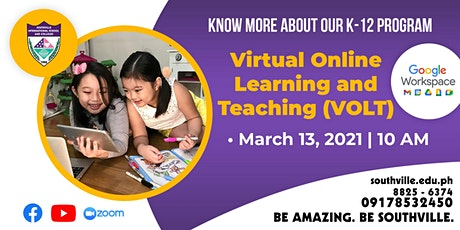 2021 Virtual Online Learning and Teaching (VOLT) Orientation tickets