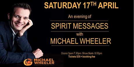 An evening of Spirit Messages with Michael Wheeler tickets