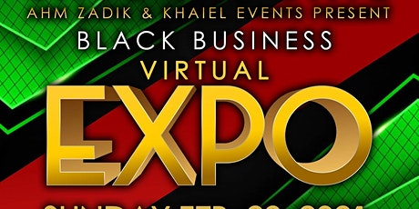 Black History Month Black Owned Business Expo tickets