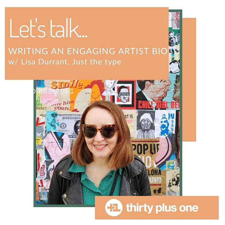 Writing an engaging artist bio image