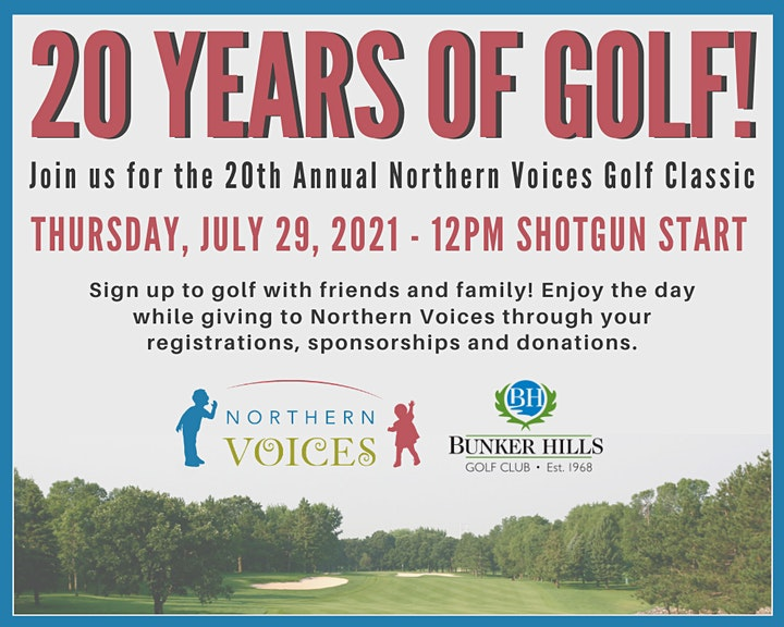 20th Annual Northern Voices Golf Classic - 2021 image