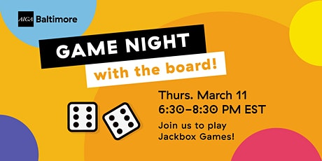 Game Night With The Board tickets