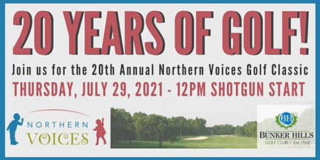 20th Annual Northern Voices Golf Classic - 2021 tickets