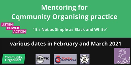 Mentoring conversation for Community Organising Practice tickets