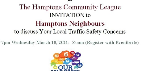 Hamptons Traffic Safety Meeting 2021 tickets