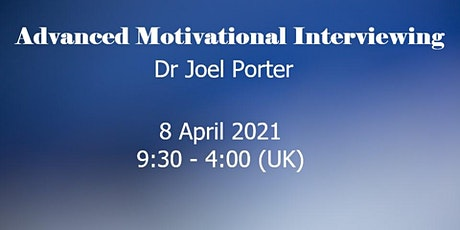 Motivational Interviewing: Building Skills UK/Europe tickets