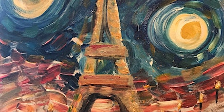 A Starry Night in Paris - Paint and Sip tickets