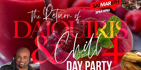 The Return of Daiquiris & Chill pt. 5 [DAY Party] at Blends Daiquiri Lounge tickets