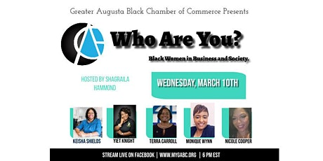 Who Are You? 'Black Women in Business and Society' tickets