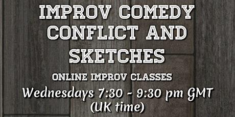 Improv comedy conflict & sketches tickets