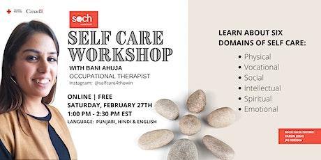 SOCH's Self Care Workshop tickets