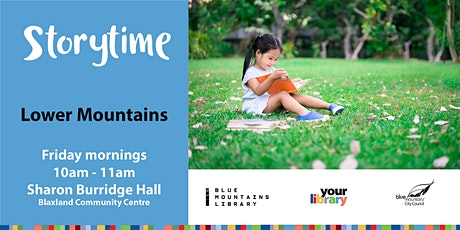Lower Mountains Storytime 26th February tickets