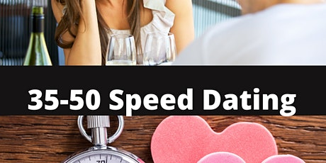 35-50  Speed Dating tickets