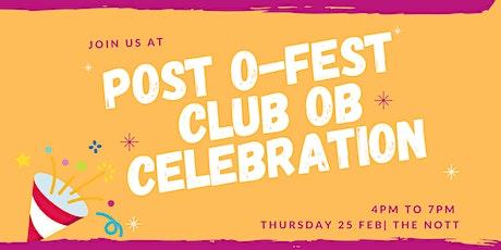 Post O-Fest Club Appreciation Celebration tickets