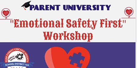 Emotional Safety First  - E-Learning Parent University tickets