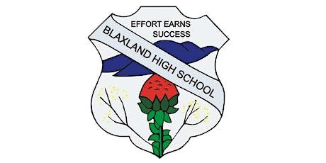 Blaxland High School Open Night 2021 tickets