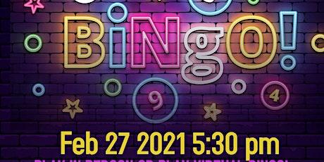 Carson Mall Family Bingo night in-person & online!!! tickets
