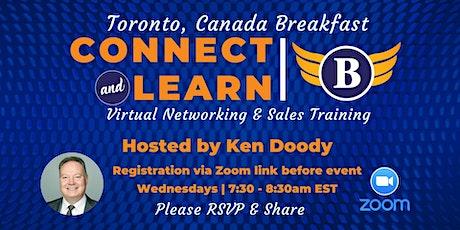 Toronto | Canada - Virtual Networking Breakfast tickets