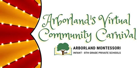 Arborland's Virtual Community Carnival tickets