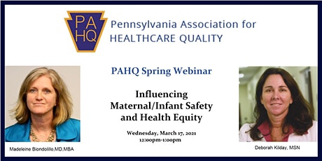 Influencing Maternal/Infant Safety & Health Equity tickets