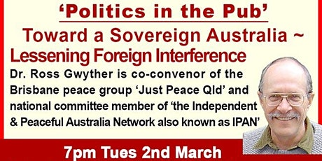 Ross Gwyther - Toward a Sovereign Australia tickets