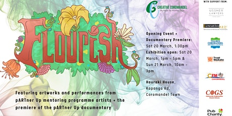 'Flourish' Exhibition tickets