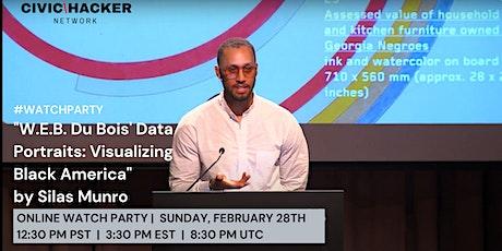 "Watch Party: ""W.E.B. Du Bois's Data Portraits: Visualizing Black America"" tickets"