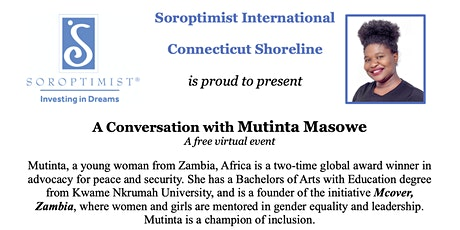 A Conversation with Mutinta Masowe tickets