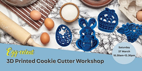 Egg-cellent 3D Printed Cookie Cutter Workshop tickets