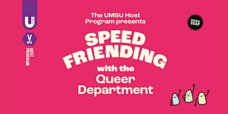 Speed Friending with the UMSU Queer Department tickets
