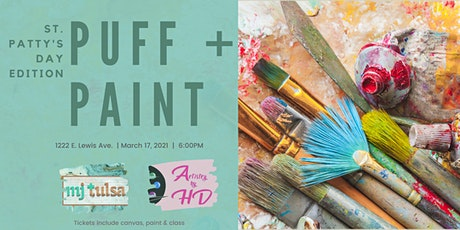 Puff + Paint : St. Patty's Edition tickets