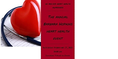 GO RED FOR HEART HEALTH MONTH tickets