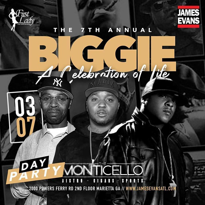 """""""BIGGIE"""" A CELEBRATION OF LIFE WITH JADAKISS & LIL CEASE LIVE @ MONTICELLO image"""