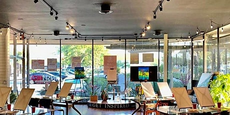 SAFE IN-PERSON PAINTING CLASS: CITY STARRY NIGHT tickets