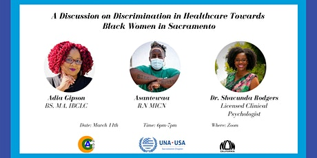 A Discussion on Discrimination in Healthcare Towards Black Women tickets