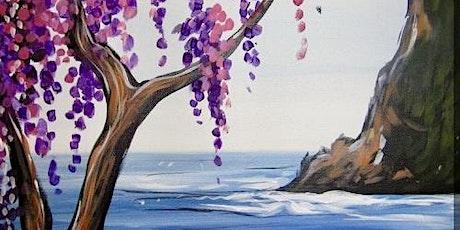 """Paint and Sip - """"Lavendar Seascape"""" Estancia La Jolla tickets"""