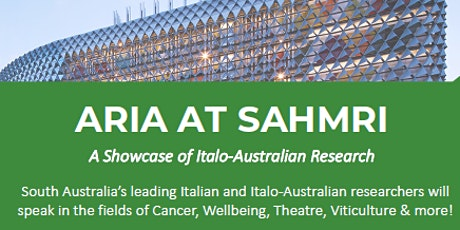 ARIA @ SAHMRI - Radio Italiana 531am tickets