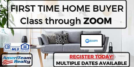 ZOOM First Time Home Buyer Class tickets