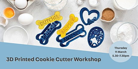 3D Printed Cookie Cutter Workshop tickets