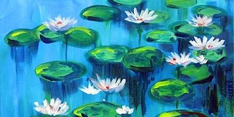 "Paint and Sip - ""Monet's Water Lilies"" Estancia La Jolla tickets"